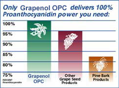 Grapenol 100 Green Tea and OPC Premium Grape Seed extract